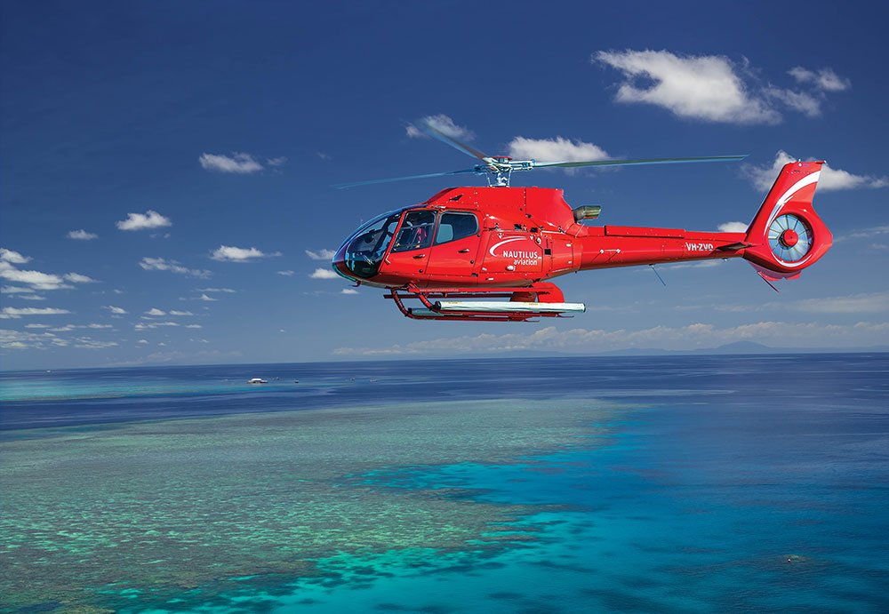 Great Barrier Reef scenic helicopter tour