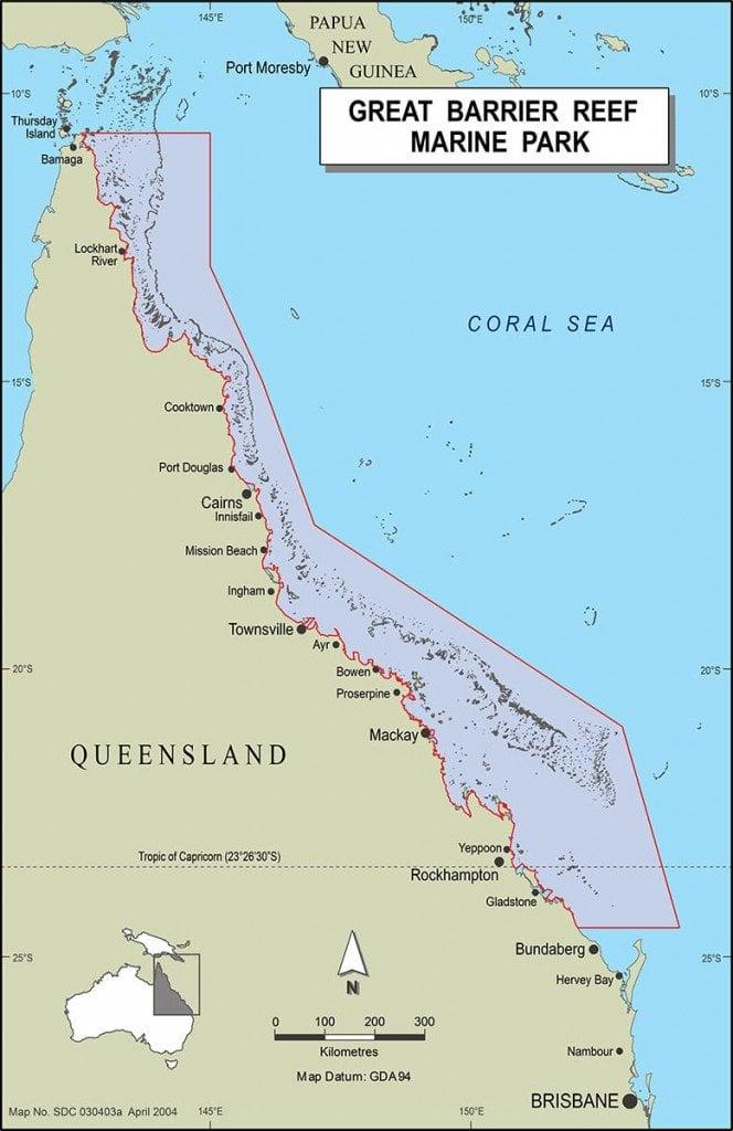 GBRMPA Map