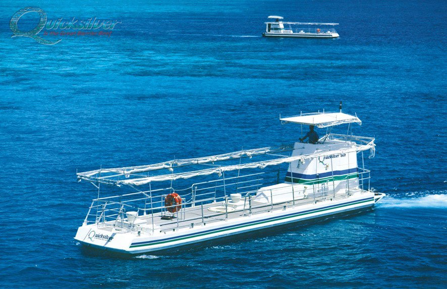 Semi Submersible Tour Great Barrier Reef Quicksilver