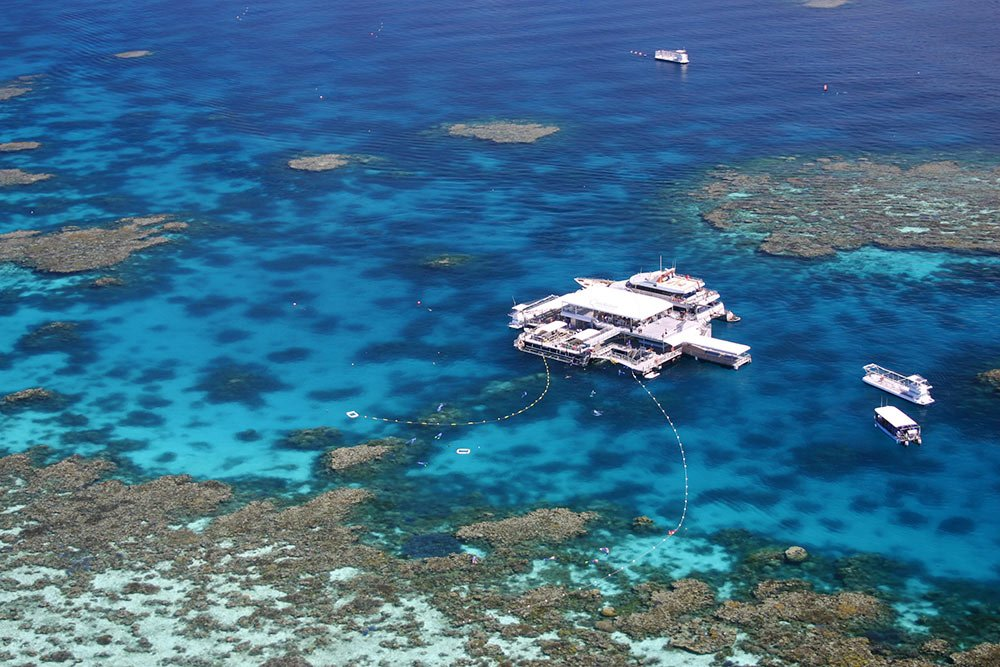Great Barrier Reef Activity Platform Agincourt Pontoon