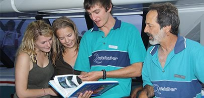 Marine Biologists briefing
