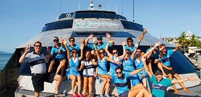 Quicksilver Cruises Crew
