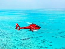 >Quicksilver Outer Barrier Reef & Scenic Helicopter Flight